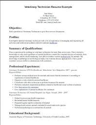 veterinary receptionist resume objective design inspiration technician 1  inspirational ideas veterinarian assistant sample i