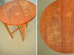 en 36 inch round wood table top x 72
