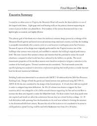 Executive Summary Phd Thesis Format Example Apa On Sample