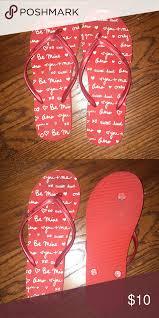 Flip Flops Aeropostale Red Flip Flops Worn A Few Times In