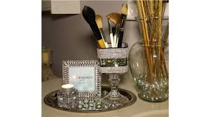 blingy makeup brush holder dollar tree diy challenge with 334bama you