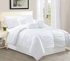 bedroom pottery barn comforter queen new best white ruffle bedding twin best home design ideas fresh