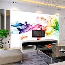 custom photo wallpaper modern 3d wall mural wallpaper color smoke fog art design bedroom office living room wall paper 2 colors in wallpapers from home  on modern 3d wall art with custom photo wallpaper modern 3d wall mural wallpaper color smoke