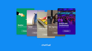 Use Templates Learn How To Use Chatfuels Bot Templates