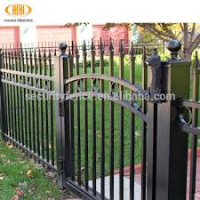 wrought iron fence gate. High Quality New Design Wrought Iron Fence Gate
