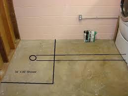 installing a basement bathroom. Installing A Basement Shower Bathroom M