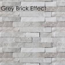 neptune grey brick effect wall panel