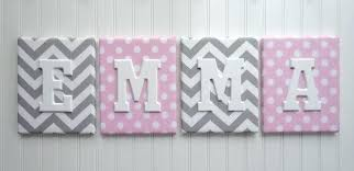 wall letters nursery decor upholstered wooden custom names pin for baby wood