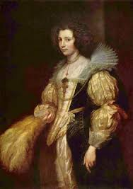 Anthonis van Dyck: Porträt der Marie-Louise de Tassis - anthonis-van-dyck-portraet-der-marie-louise-de-tassis-02742