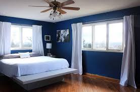 7 fantastic bedroom with royal blue