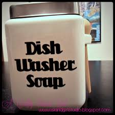 homemade dishwasher cleaner. Diy%b %bdishwasher%bsoap%b %bcontainer Closeup Text At Homemade Dishwasher Cleaner
