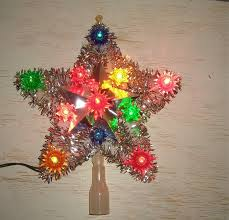 Northlight Lighted 5 Point Metal Star Decorative Christmas Tree Christmas Tree Lighted Star