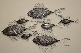 luxury ideas fish wall decor interior designing metal dongguan elegance crafts gifts co ltd for bathroom