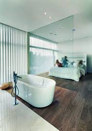master bedroom with open bathroom. Awesome Perfect Master Bedroom With Open Plan Bathroom Suite Design Ideas 11