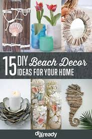 15 diy beach decor ideas for diy