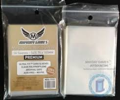 Details About 125 Thicker Mdg 7151 Mega Civilization Large Card Sleeves For 75x105 Board Game