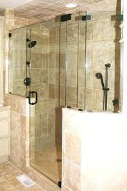 glass shower wall panels half doors s