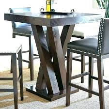 bistro table bar height outdoor bar height bistro table wicker bar height patio table with 4
