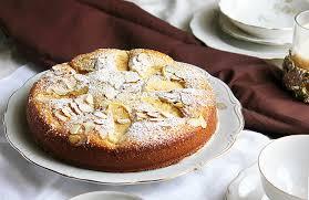 Apple Almond Cake Munaty Cooking