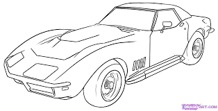 cool cars drawings easy. Brilliant Easy How To Draw A Corvette Step By Step Cars Cars Online And Cool Drawings Easy C