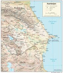 Azerbaijan Maps Perry Castañeda Map Collection Ut