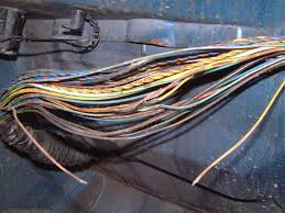 e38 wiring harness repair when harness is unwrapped many torn completely broken or fused wires become evident
