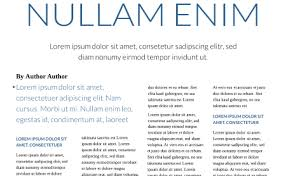 Magazine Article Format Template Free Online Magazine Maker Design Your Own Magazine