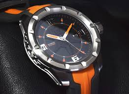 orange swiss sport watch wryst ultimate es50 for men limited edition sports watch in orange for men limited edition