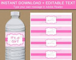 Decorating Water Bottles For Baby Shower Mint Grey Water Bottle Labels Mint Green Baby Shower 59