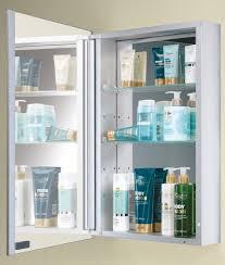 Aluminium Bathroom Cabinets Hib Kore Slim Line Aluminium Bathroom Cabinet 400 X 600mm