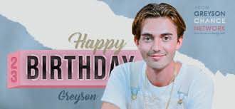 Greyson Chance Network – Happy 23th Birthday, Greyson!