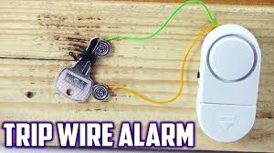 diy trip wire alarm using neodmyium Alarm Wiring Diagram For A Homemade Alarm Nadco Wiring-Diagram