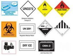 325 Dot Hazardous Materials Warning Labels Postal Explorer