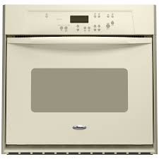 Electric Wall Oven 24 Inch Shop Whirlpool 24 Inch Single Electric Wall Oven Color Bisque