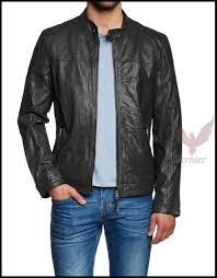 image is loading new motorcycle leather jacket mens army coat soft