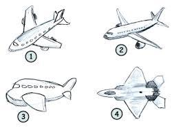 Airplane Drawing How To Draw A Cartoon Aeroplane Casa Sanmarino
