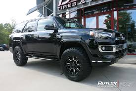 Toyota 4Runner with 18in Black Rhino Sierra Wheels exclusively ...