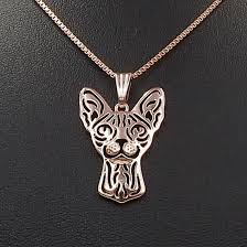 sphynx cat pendant necklaces