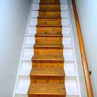 Painted Staircase - Bare Wood 'Runner'