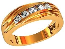 Приволжский Ювелир <b>Кольцо с 5 фианитами</b> из серебра с ...