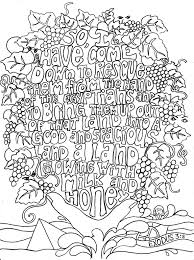 Bible Verse Coloring Pages For Adults At Getdrawingscom Free For