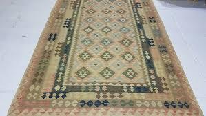 details about 10 x 6 7 handmade afghan wool kilim rug tribal kelim area rug flat carpet 3128