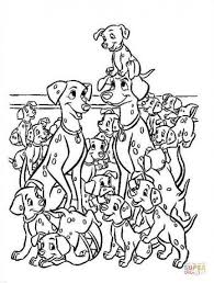 5 dalmatians coloring pages free coloring pages 101 dalmatians coloring pages