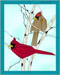 free pattern lord and lady cardinal