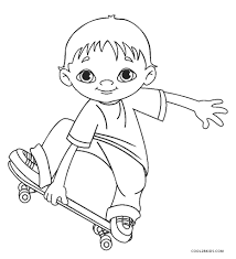Girls at play coloring pages. Free Printable Boy Coloring Pages For Kids