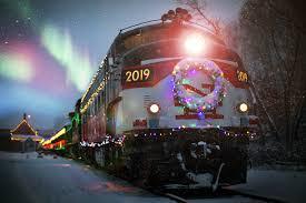 Polar Express Lights Northern Lights Limited Santa Express Railroad Museum Of