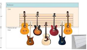wall mounting systems for guitars