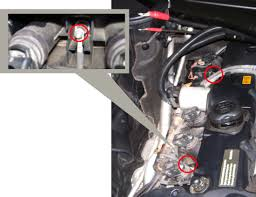 2007 2010 x3 n52 valve cover replacement diy bimmerfest bmw forums 7 remove the two negative ground wires 8mm socket