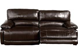 two seat reclining sofa leather recliner home auburn hills brown 5 endurance barkley 2 seater manual