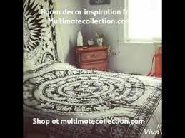 bohemian room decor ideas tapestry
